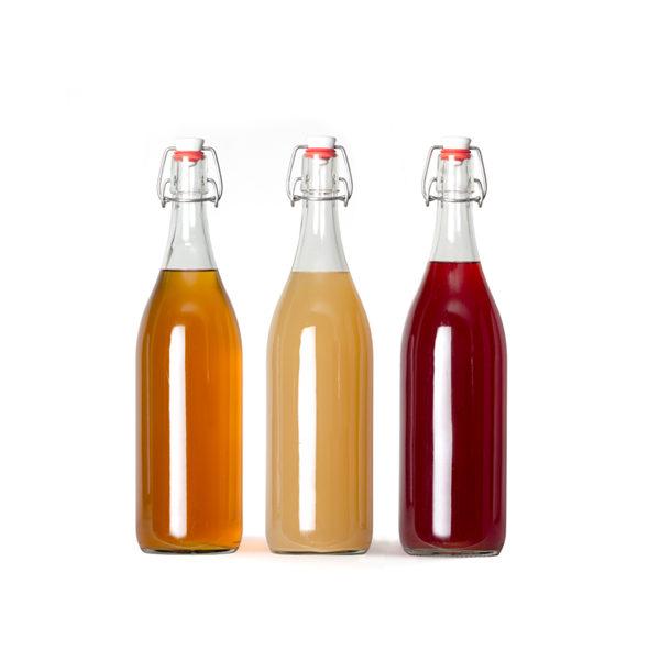 Siropenproefpakket   3 verschilende smaken   0,5 liter