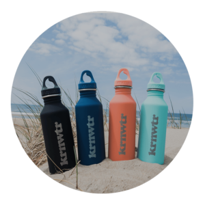 Stainless steel drink bottles