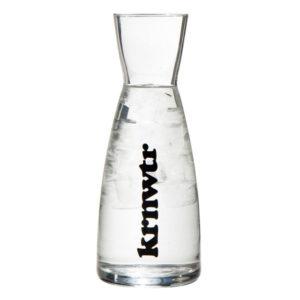 KRNWTR Waterkaraf | glas | 1 liter
